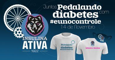 Evento ciclístico celebra o Dia Mundial do Diabetes
